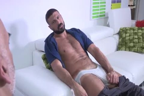 Bearded Bald Hung Beardad-Bearded Hunk: HJ-RIM-BB-bj-HJ-cum