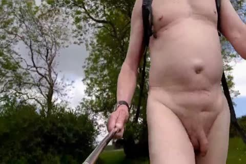 A nude Summer Walk In A Popular Local Nature Reserve